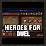 Hello everybody. Today I finished the mod that adds new heroes for duels. I made by 4 hero to each faction (for missing classes) Screen1 Screen2 Screen3 Screen4 Screen5 Screen6 Installation. Save original files in the convenient place and to move with replacement files from archive. C:\....Might & Magic Heroes VII\MMH7Game\CookedPC\Data (save the original file(H7Config.upk) in any place then replace him with the file from the downloaded archive) C:\....Might & Magic Heroes VII\MMH7Game\CookedPC\Data\Editor\Templates\Heroes (save the original file(H7DuelHeroes.upk) in any place then replace him with the file from the downloaded archive)