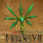 "Here is a new Champion Creature the Wild Pixie. It is based on an old concept art from the Might and Magic World.   I did this in my private time and it is far from perfect, but I hope you will enjoy it. You can mod it into your own creations or put it on your maps.   Known issues: - Animations for ""Scent of Wildflower"" and ""Leaf in the Wind"" do not play - Some of the Effects are not visible (do not play?) during combat (but are visible in the Animation Editor - There are no sounds for this creature - The Creature might not be balanced (feel free to make suggestions) - Creature has no heropedia entry - The Creature did not get tested with all possibilities, feel free to let me know if you find an issue - Map has no description (sry for being lazy, but the mapname says everything) - and it is only for those of you who want to test the pixie before using in your own map :)   If anyone of you has a fix for those issues, let me know :)   What this creature is and can do: The Creature is a 1x1 tile Champion Creature - week melee attack/retaliation - Scent of Wildflower: there is a 20% chance that the aura will remove attack and retaliation ability of enemies (will refresh when a new combat round starts); will appear when the enemy is not inside the aura anymore - Leaf in the Wind: A luck based evasion possiblity to incomming attacks (melee, ranged and hero attacks) - Prism: After taking magical damage (ranged and spells - not own hero spells) the creature will reflect random magic damage to all enemy creatures; the damage is based on creature stack size and hero level   - This upload contains two testmap versions (one for vanilla one for add on) - just in case ;) and the Creature Package I have my Creature located here: \...\steamapps\common\Might & Magic Heroes VII\MMH7Game\CookedPC\Editor\Templates And the Maps here: C:\Users\...\Documents\My Games\Might & Magic Heroes VII\MMH7Game\EditorWorkspace You should fine the Maps than in the Game: -> Multiplayer -> Hotseat -> Adventure Create -> scroll down"